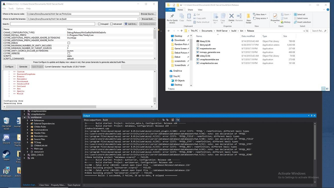 Missing Authserver exe in   build/bin folder - Help and